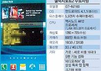 Se filtran las especificaciones del Samsung Galaxy Note 2