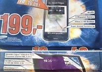 [Schnäppchen] Samsung Galaxy S für 199€ & Acer Iconia Tab A500 32GB für 299€ morgen (16.09.) bei Saturn in Hamburg