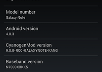 CyanogenMod For Galaxy Note– First Alpha Download Ready