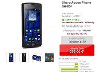 [Deal] Aquos Phone SH-80F – 3D Androide für knapp 300 €