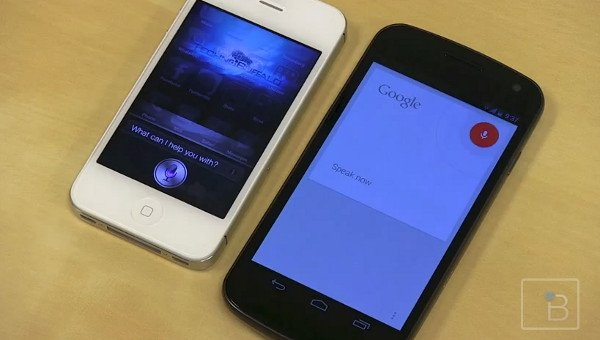 ios siri vs voice search jelly beam