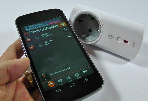 Steckerchecker Elektrische Gerate Mit Dem Smartphone Steuern
