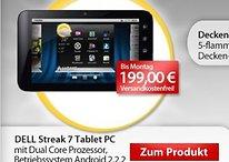 """[Deal] Dell Streak 7 – 7"""" Tablet mit Dual-Core und UMTS für 199 €"""