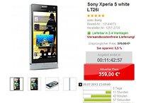 [Deal] Xperia S in weiß für 359€