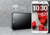 LG Optimus G Pro : 5,5 pouces, écran incurvé