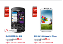 Blackberry Q10 meilleur que le Samsung Galaxy S4 ?