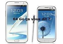 Augmentez la mémoire de votre Galaxy S3, Note 2 de 16 Go jusqu'à 64 Go