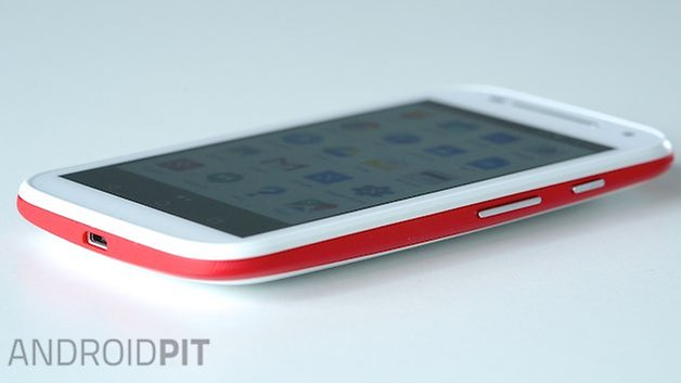 Motorola Moto E angle