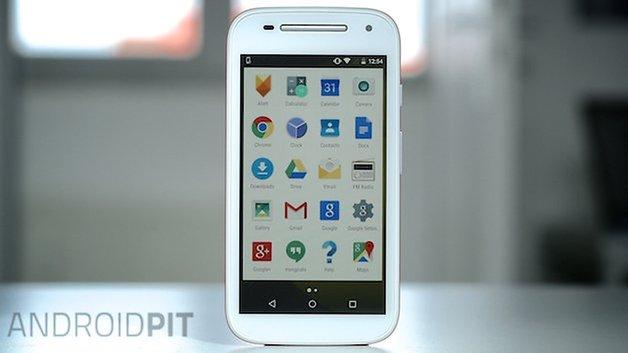 Motorola Moto E front