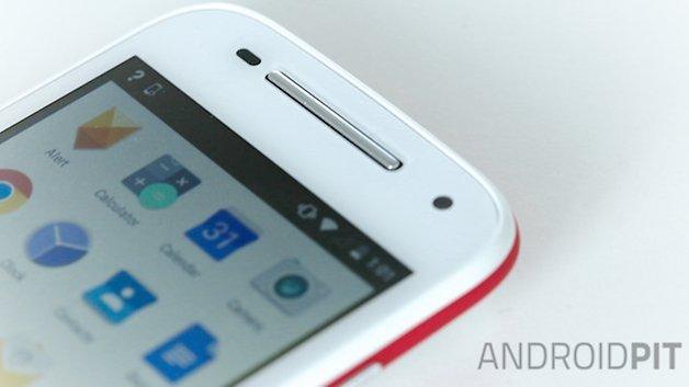Motorola Moto E speaker