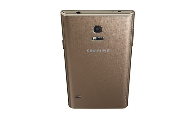 Samsung z Back Dynamic Gold