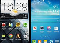 Comparatif : Samsung TouchWiz, HTC Sense