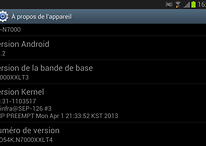Root du Samsung Galaxy Note