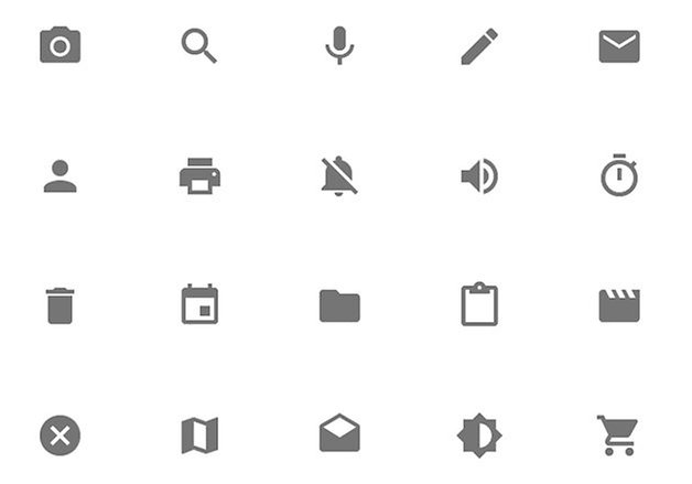 android l features review system icons