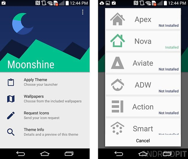 android l lolippop smartphone look