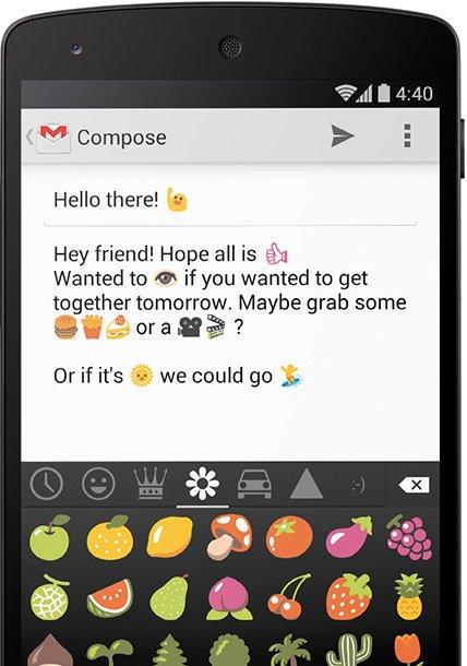 android4 4 emoji