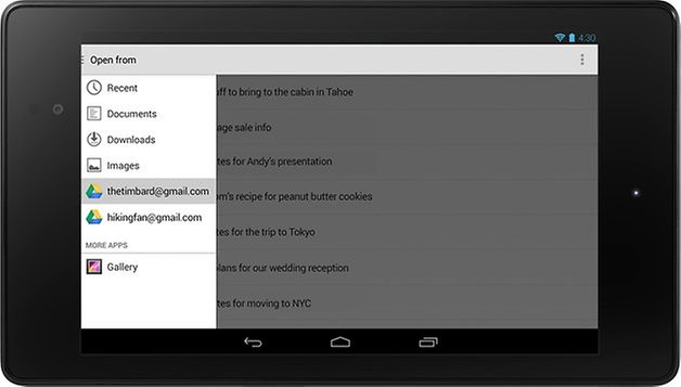 android4 4 pick a file