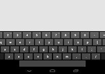 Fonction cachée d'Android 4.2 - Le génial clavier pour tablette