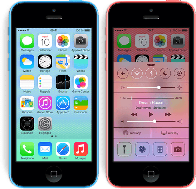 apple iphone 5c fr