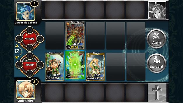 arcane magic jeu android combat