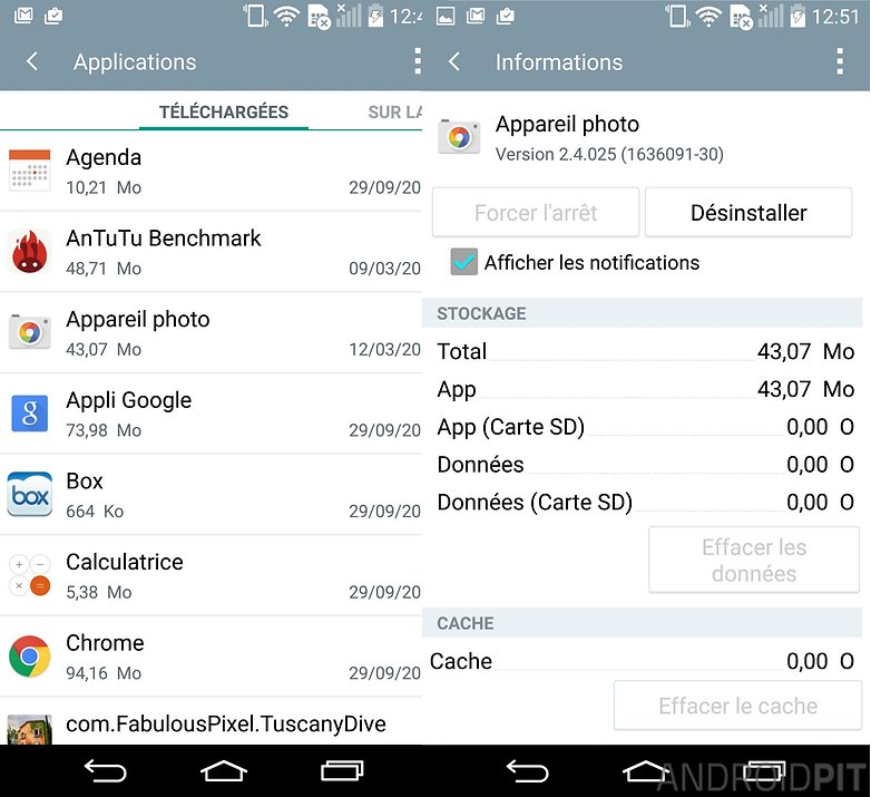 booster lg g3 cache applications