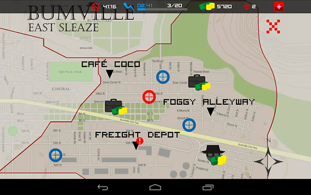clear vision 3 android jeu test carte