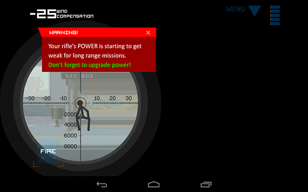 clear vision 3 android jeu test scope