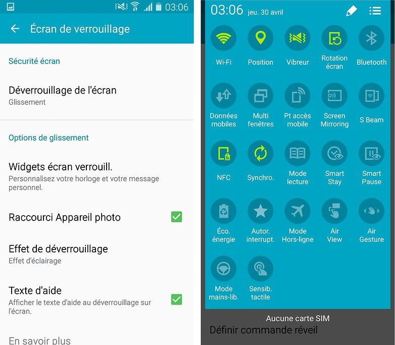 comment personnaliser samsung galaxy s4 3