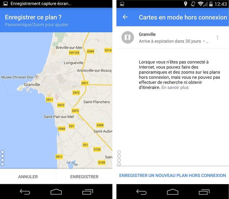 comment utiliser les google apps hors connexion maps