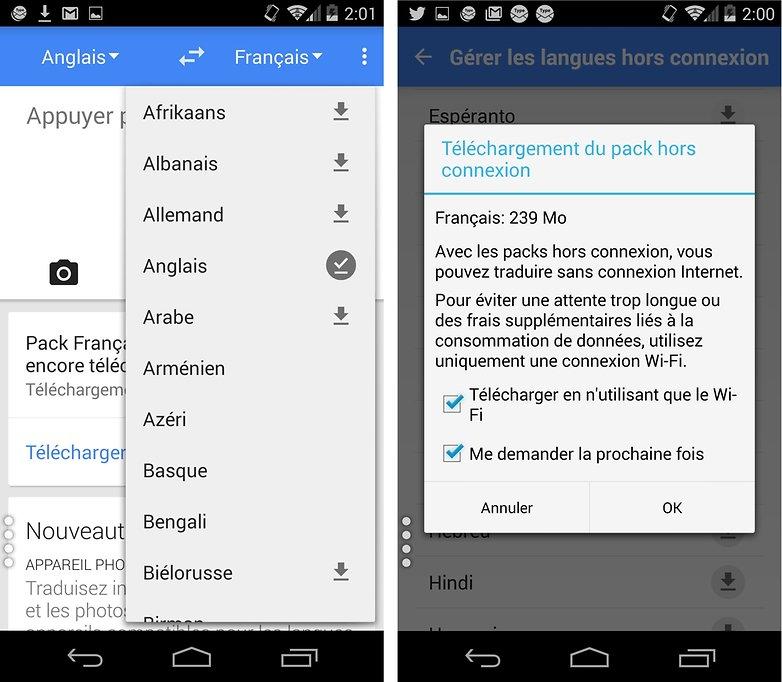 comment utiliser les google apps hors connexion traduction 1