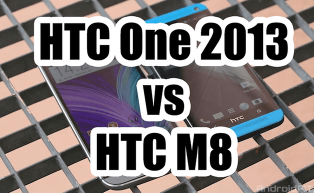 comparatif htc one htc m8