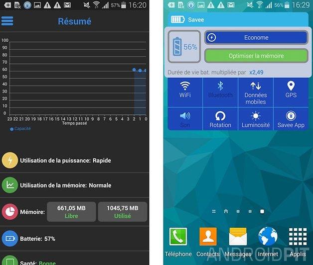doubler autonomie batterie savee widget