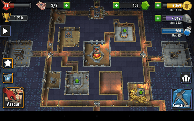 dungeon keeper android test 4