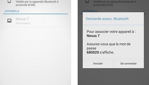 Comment envoyer des applications par Bluetooth sur Android