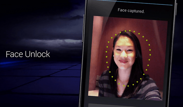 face unlock teaser