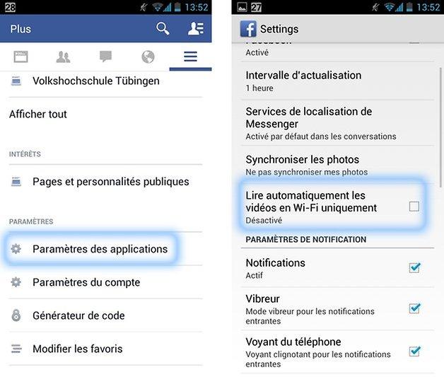 facebook lecture automatique videos