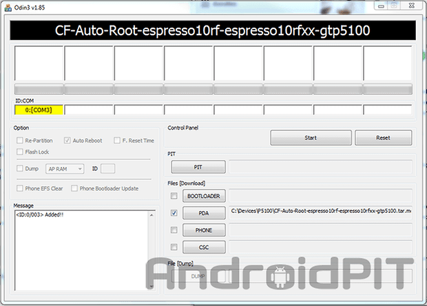 galaxy tab 2 root odin2