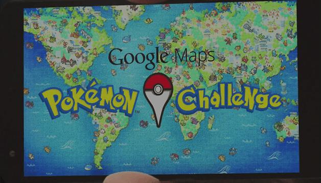 Google does April right: Pokémon in Google Maps