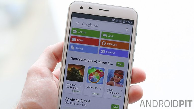google play store apk fr