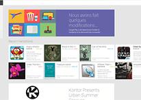 Nouvelle version du Google Play Store web
