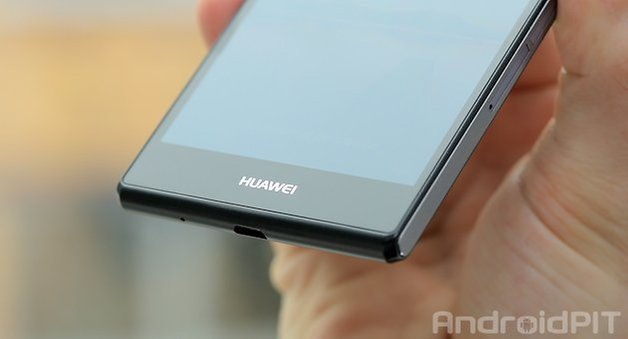 huawei p7 front low