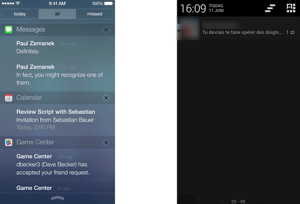 ios android notifications