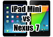 Comparatif : Apple iPad Mini vs Google Nexus 7 (2013)