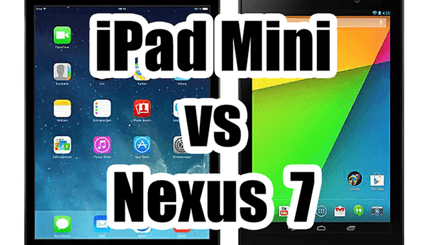 Apple iPad mini vs Google Nexus 7 (2013)