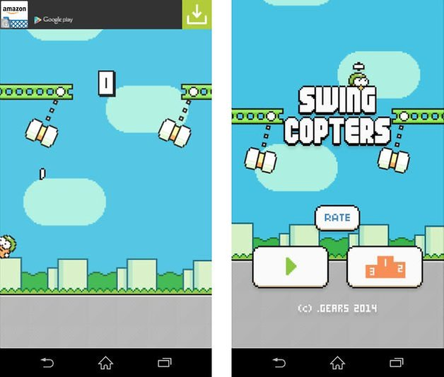 jeu android durs swing copters