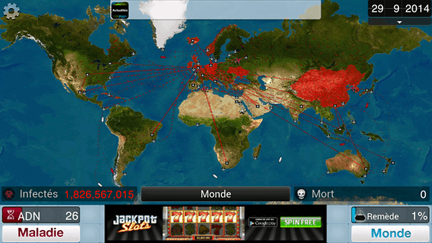 jeu strategy android plague inc