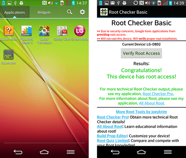 lg g2 root root checker