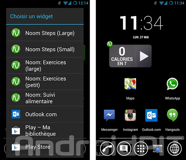 meilleur widget android 2