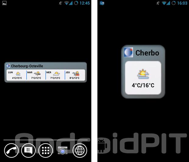 meilleur widget android 3