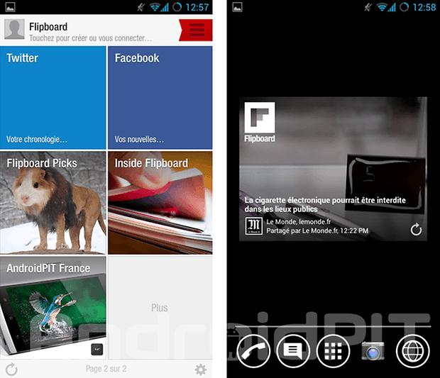 meilleur widget android 5